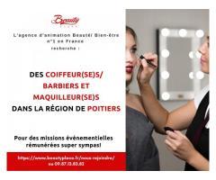 Recherche de coiffeur(se)s barbier(iere)s