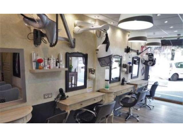 Vend salon de coiffure